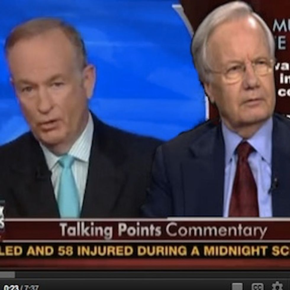 Bill O'Reilly In A Nutshell: Gun Control Is Stupid! What We Need Is MORE Gun Control!