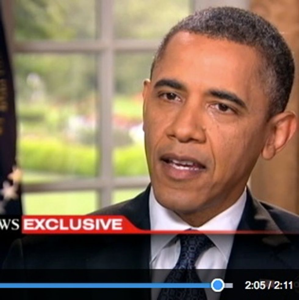 Ladies And Gentlemen, The First President In Our Nation's History To Support Full Marriage Equality