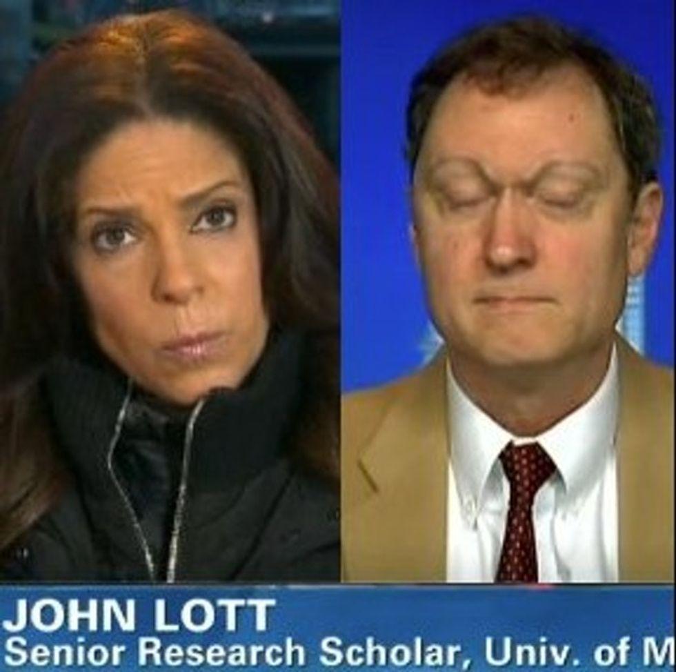 Gun Expert Decides To Make Stuff Up. Reporter Decides To Shut Him Down.