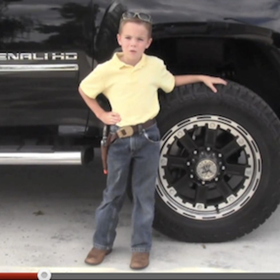 How A 6-Year-Old With Ignorant Parents Just Became The Best Republican Presidential Candidate