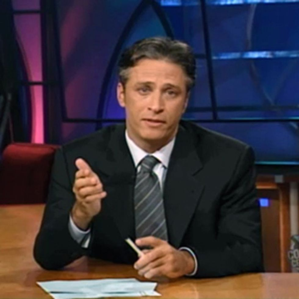 Jon Stewart's First Show After 9/11. What Else Is There To Say?