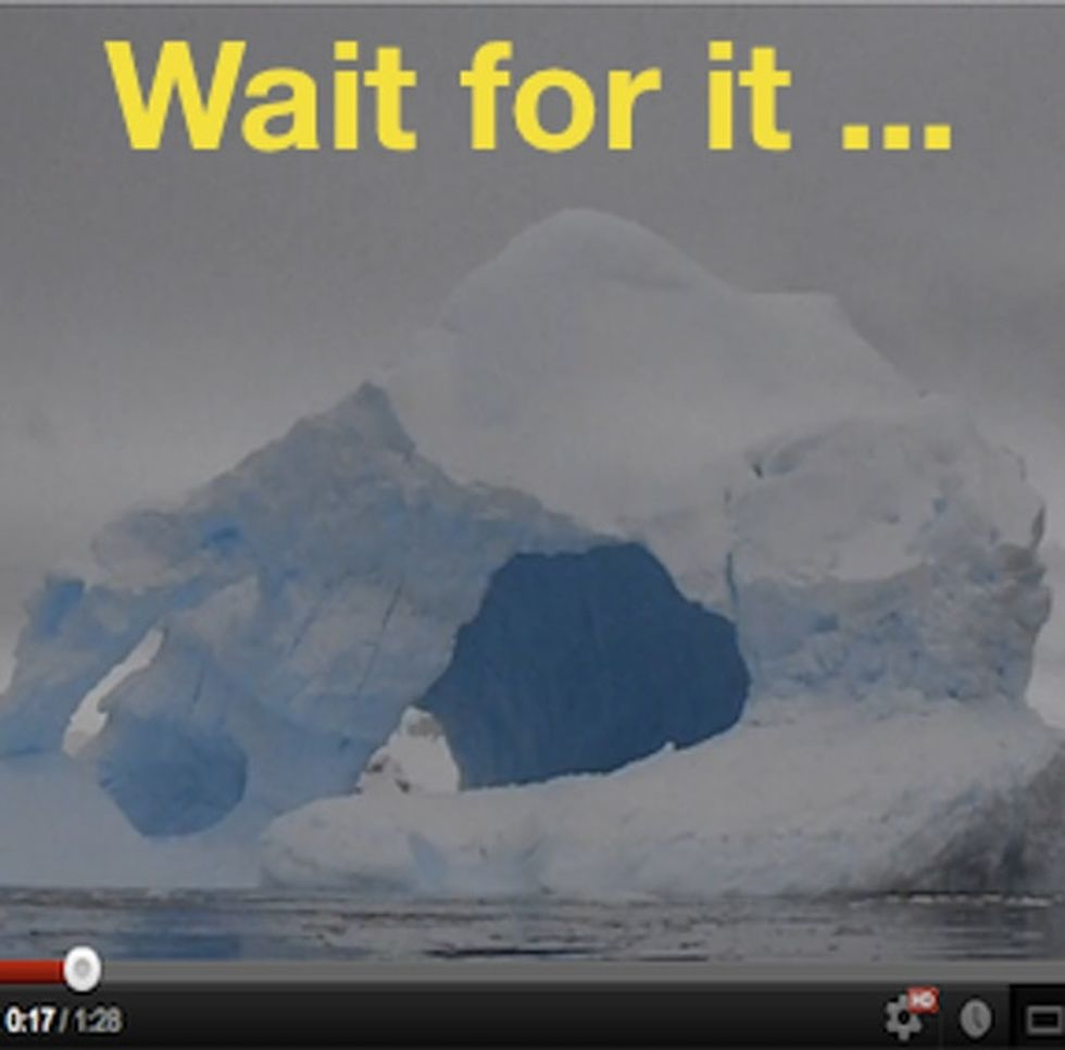 Global Warming Is Starting To Piss Off The Icebergs