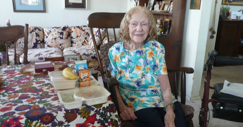 She's 95 and lives alone. This important organization keeps her life feeling full.