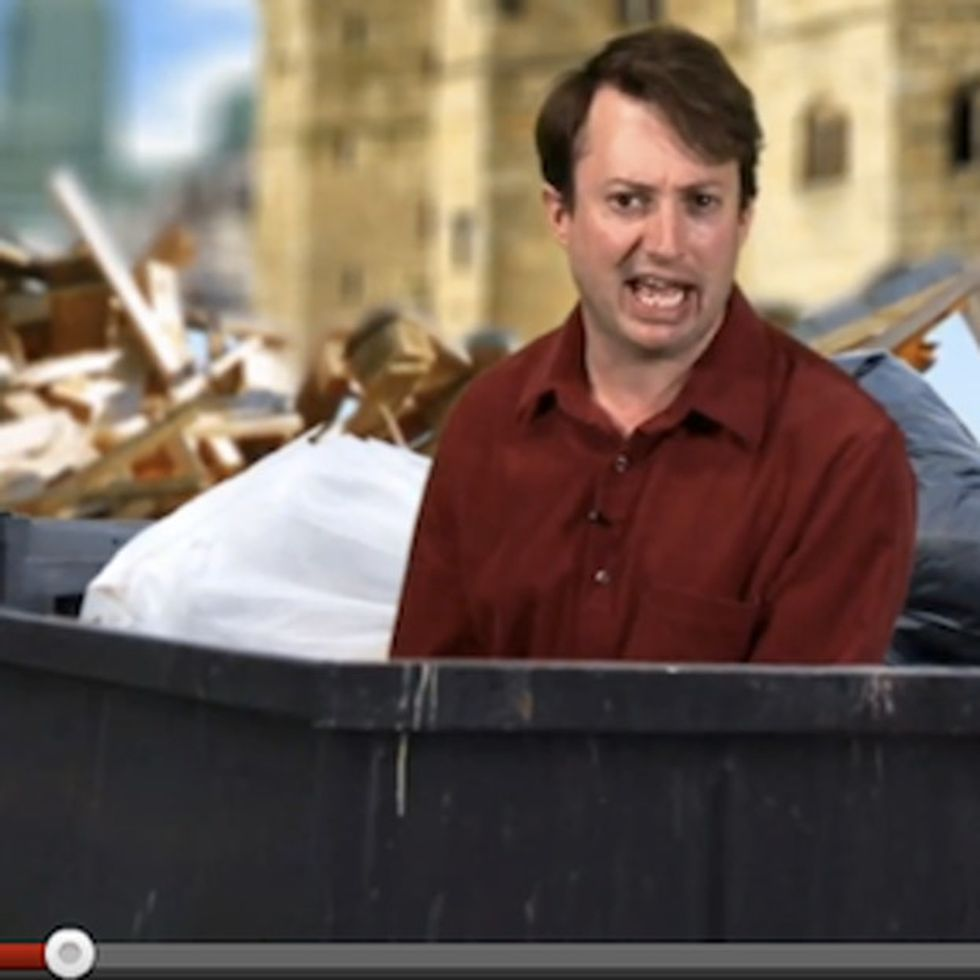 When A Politician Says He's Going To 'Cut The Waste,' I Want To Slam My Head Into Something