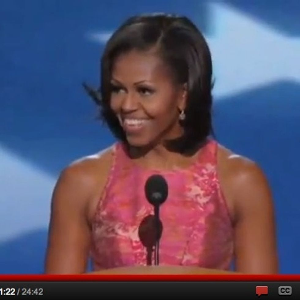 Michelle Obama Makes Me Not Hate Politics For One Beautiful Moment