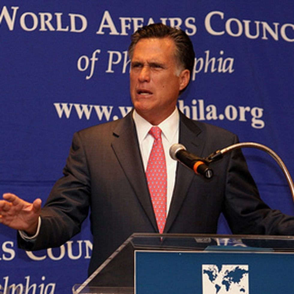 Mitt Romney Should Probably Stop Using Facts To Support His Arguments