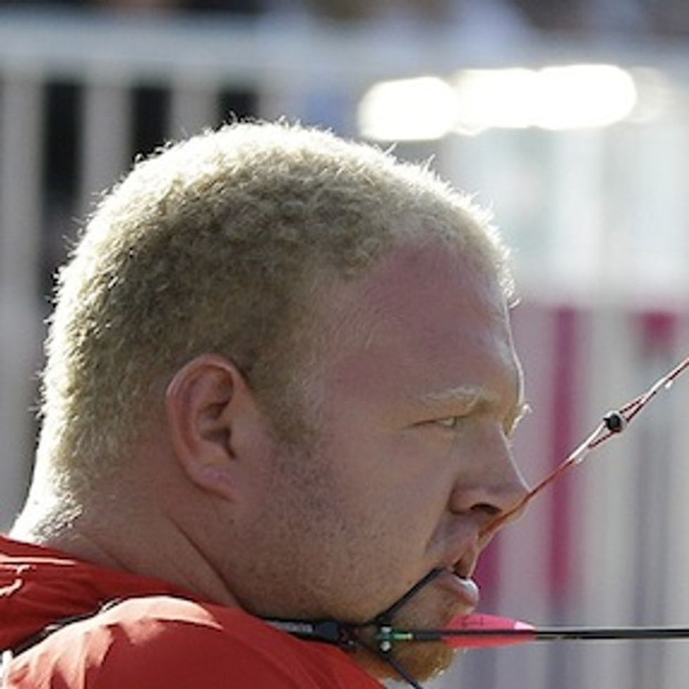 That's as crazy as a man without arms medaling in archery. Oh, wait...