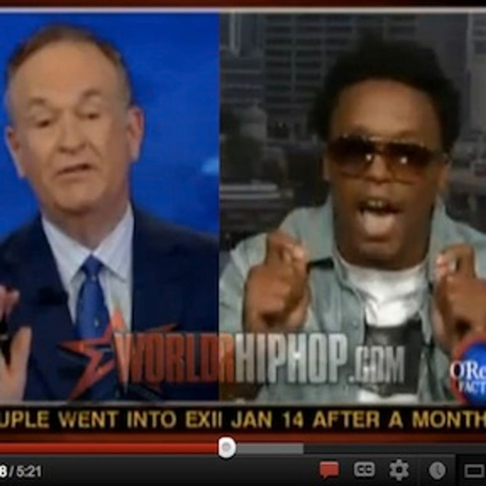 Brilliant Rapper Lupe Fiasco Embarrasses Bill O'Reilly On His Own Show