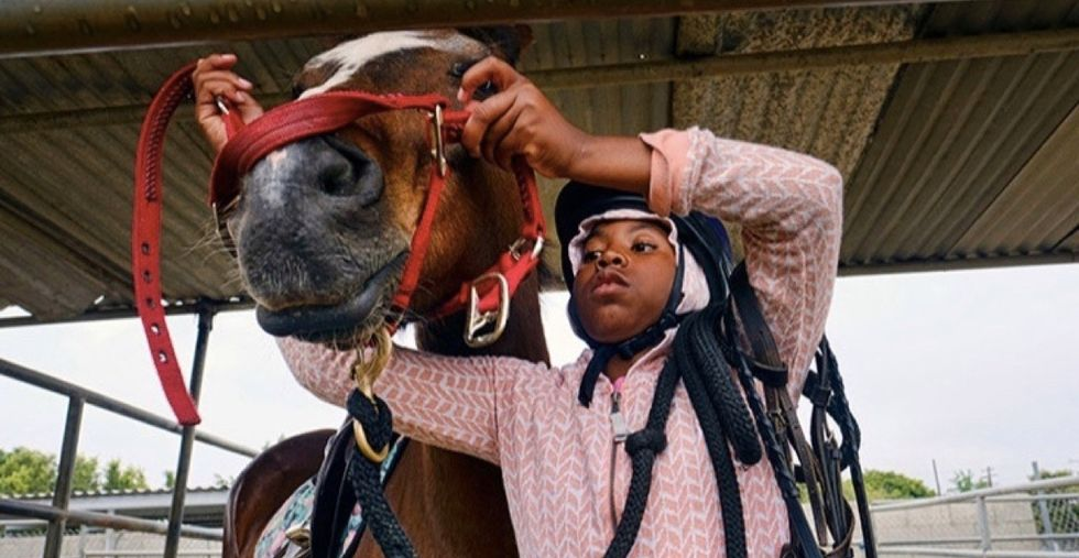 Compton used to be filled with cowboys. See how one mom brought them back.