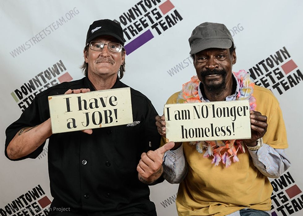 This mother-son duo is taking homelessness to task in an amazing way.