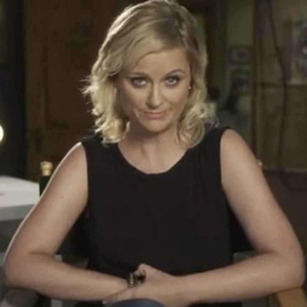 Amy Poehler May Be A Comedian, But She's Not Joking About This