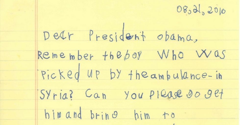 This 6-year-old from New York just offered a Syrian boy a spot in his family.