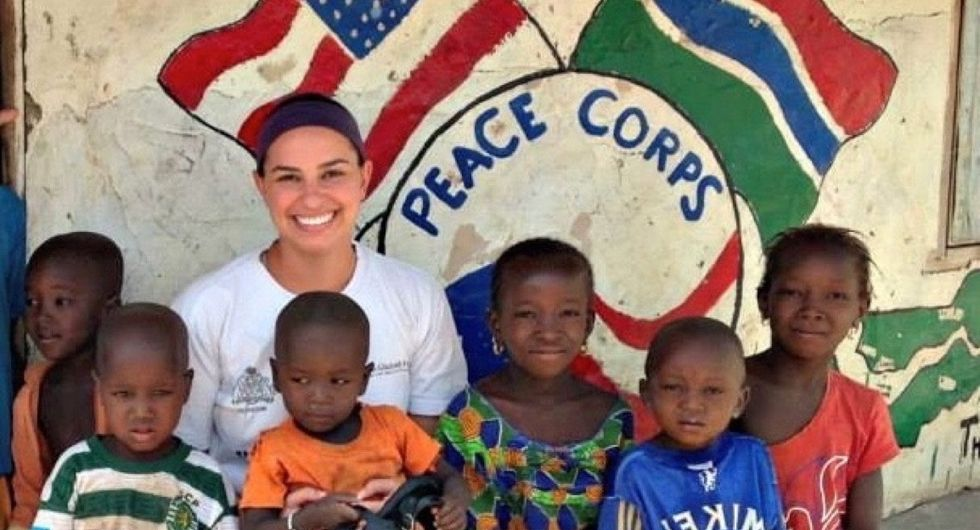 2 years in the Peace Corps taught her the importance of hands-on volunteer work.
