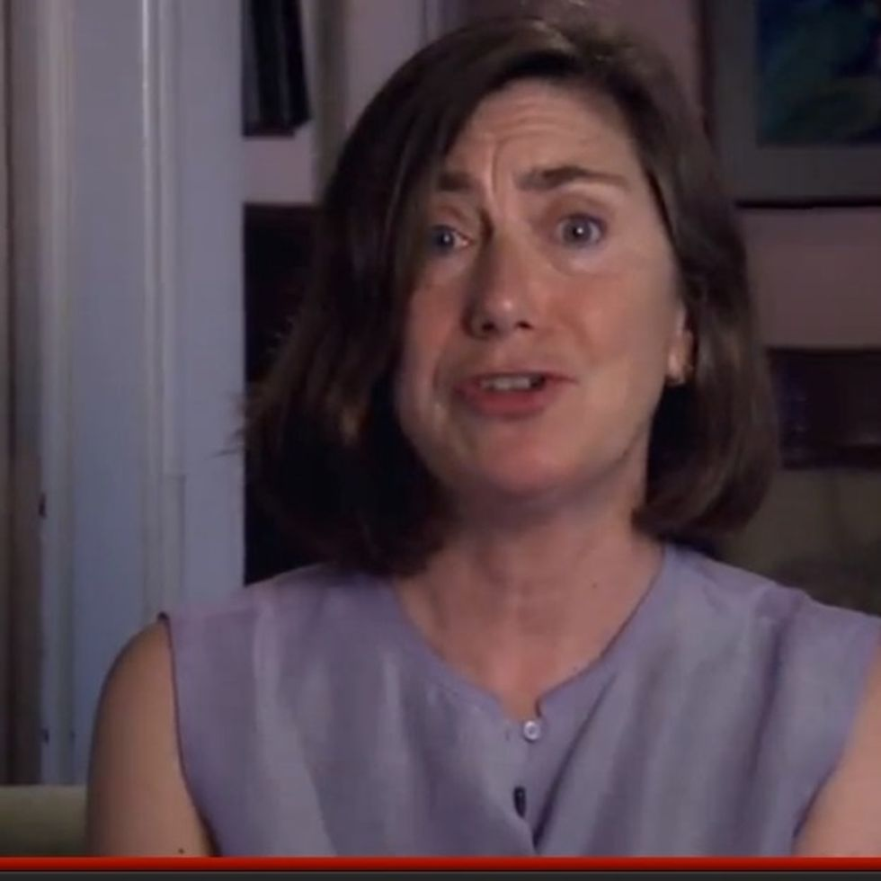 This Woman Is Biased Against Mitt Romney. Probably Because He Told Her He Didn't Care About Her Kids.