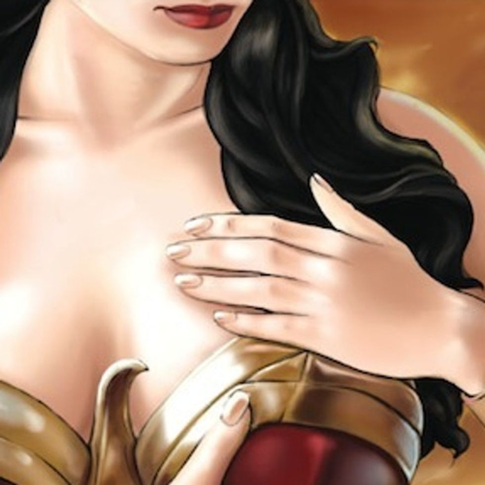 Nobody Is Immune To Breast Cancer … Not Even Wonder Woman