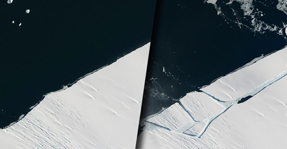 Trump's EPA nominee isn't sure about climate change. He should see this Antarctica photo.