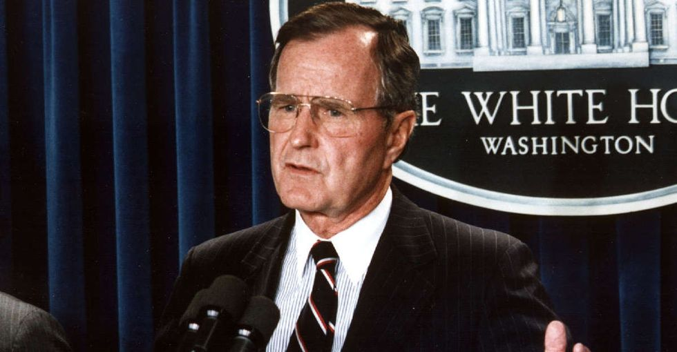 After losing in 1992, George Bush wrote a letter to Bill Clinton. Trump should read it.
