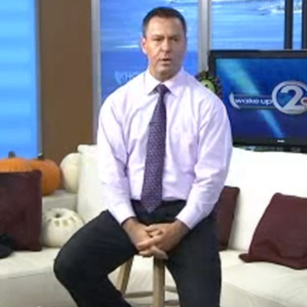 Local News Anchor Takes Dramatic Stand Against Domestic Violence On Live TV