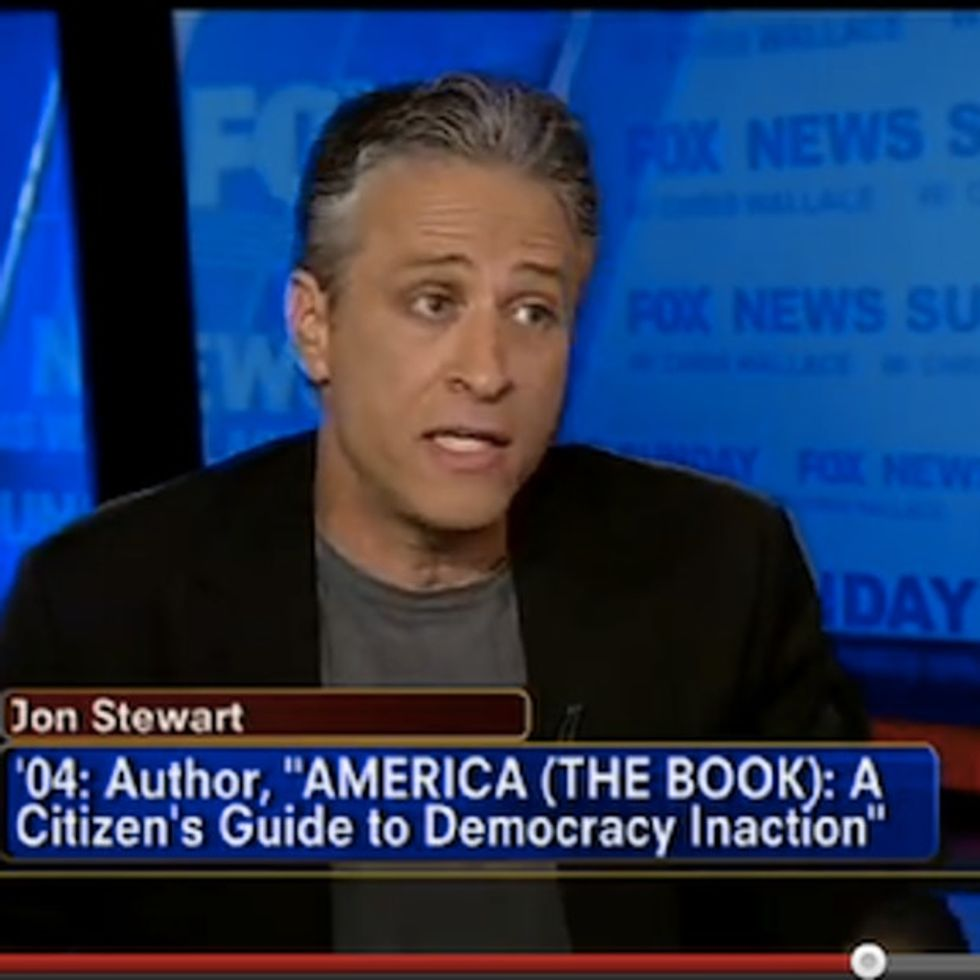 Fox News Tries To Ambush Jon Stewart On Television. They Probably Shouldn't Have Done That.