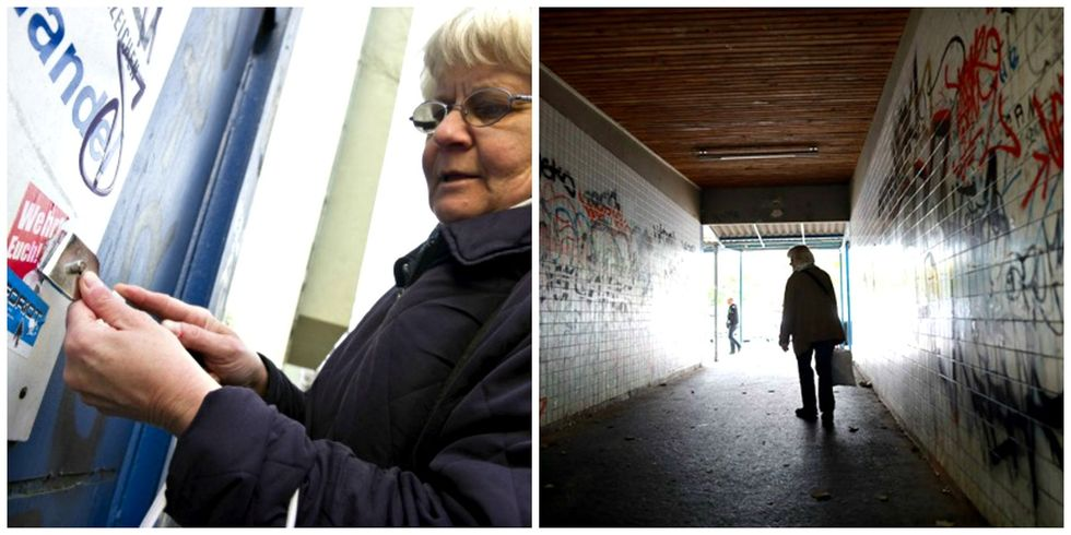 Why this badass 70-year-old is waging a one-woman war against Nazi graffiti.