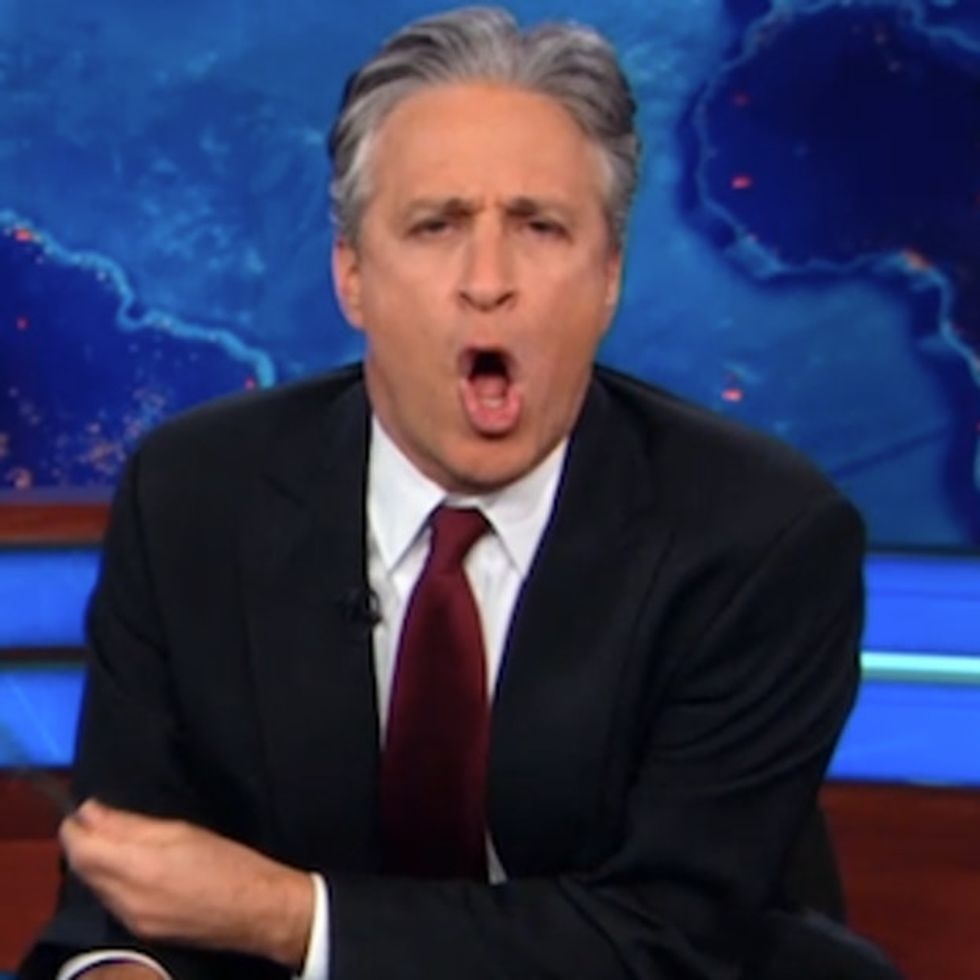 House Republicans Did WHAT? No Wonder Jon Stewart Rips Them A New One.