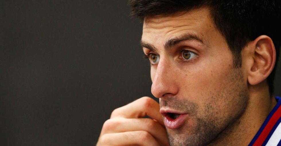 What to do about Syrian refugees? Novak Djokovic just nailed it.