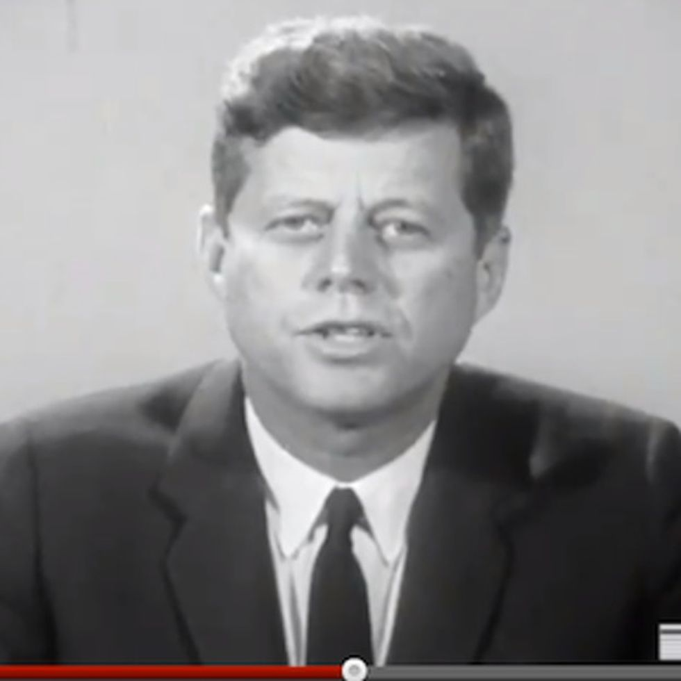John F. Kennedy's Ghost Wants You To Do Him A Favor