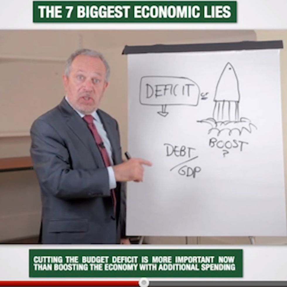 Speed-Debunking The 7 Biggest Lies About The Economy