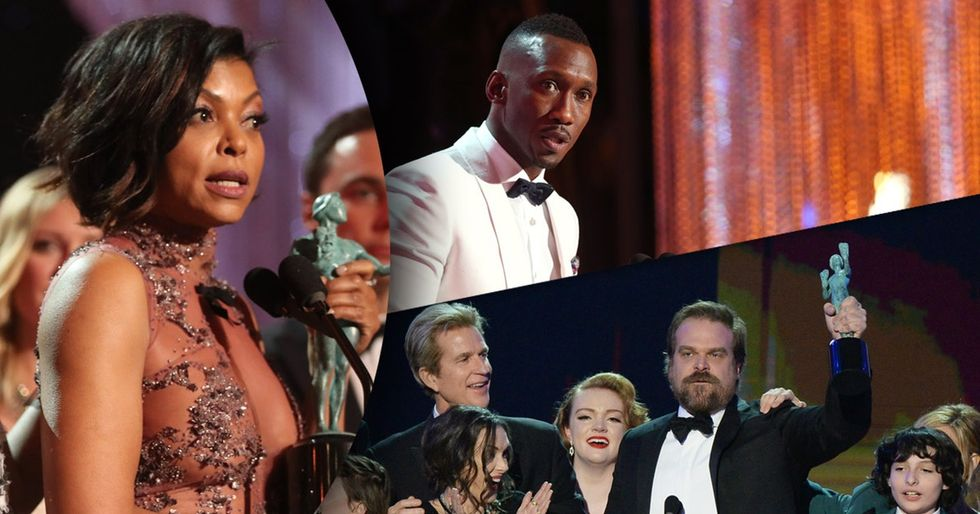 7 times SAG Award winners slammed Trumpism without mentioning him by name.