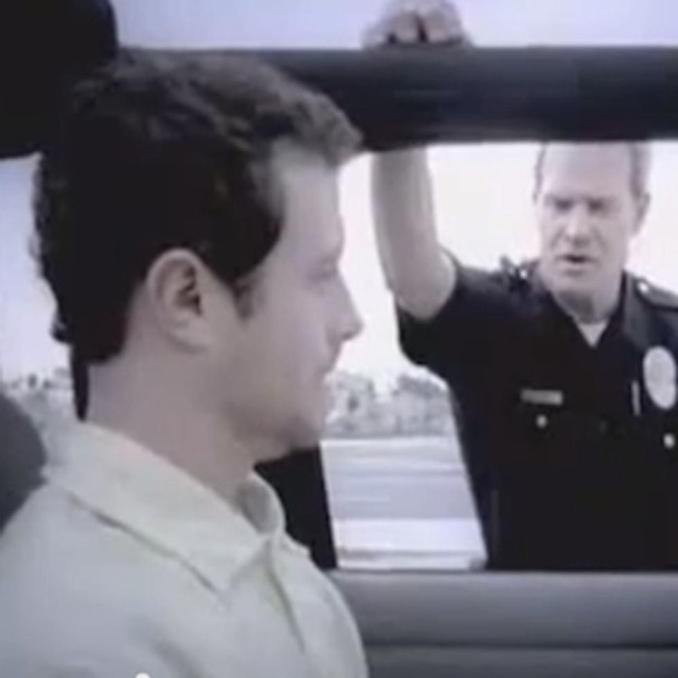 The Weirdest 29-Second Traffic Stop Ever