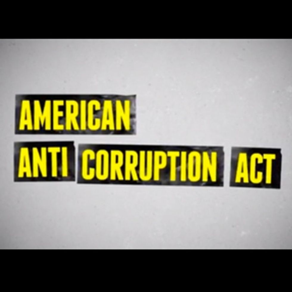 Republicans And Democrats Are Uniting To End Government Corruption. And It's Beautiful.
