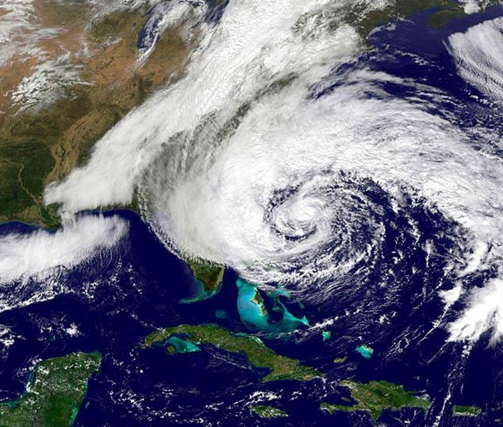 So Did Global Warming Cause Hurricane Sandy Or What?