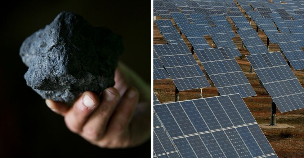 Solar energy is getting so cheap that even this coal museum is using it.
