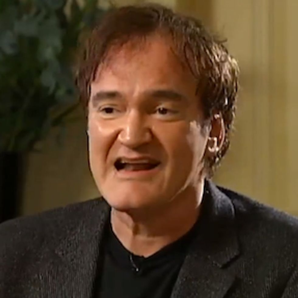 Quentin Tarantino Freaks Out During A Live Interview. Guess What Sets Him Off.