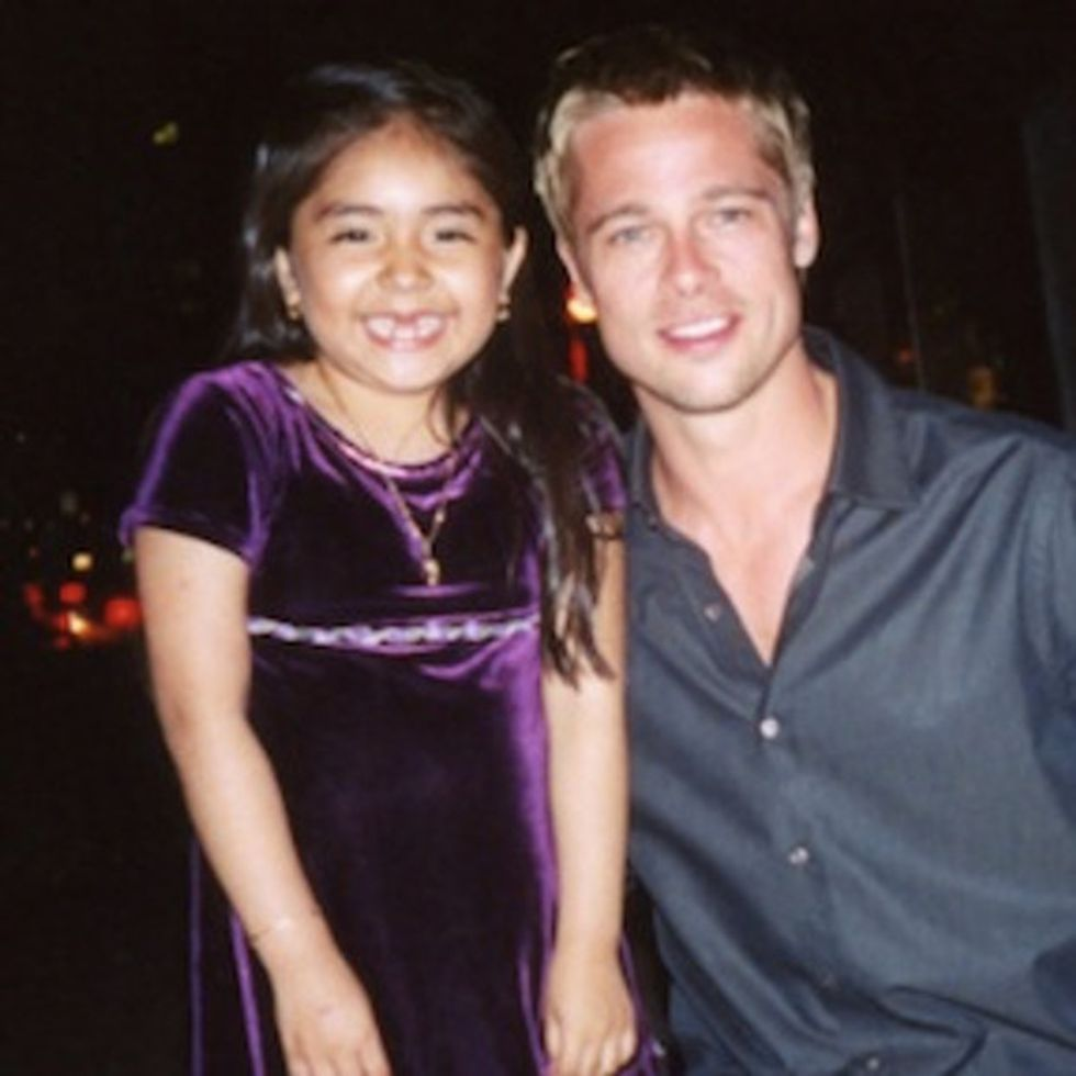How Some Special Volunteers Made Brad Pitt Good Looking Again