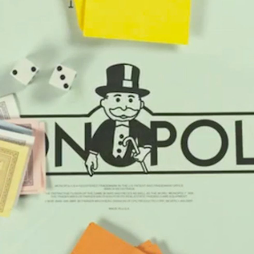 Monopoly: the secret socialist board game you never got to play.
