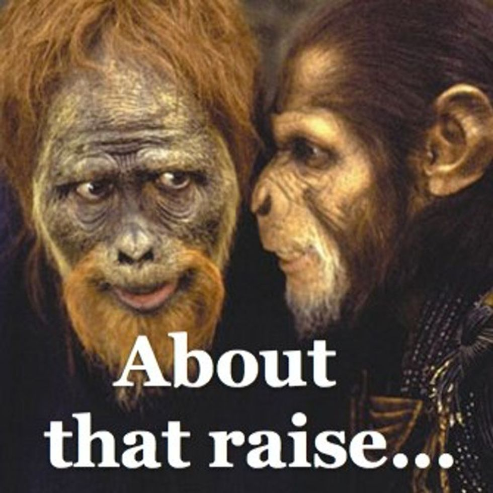Remember 'Planet Of The Apes'? It's Closer To Reality Than You Think.