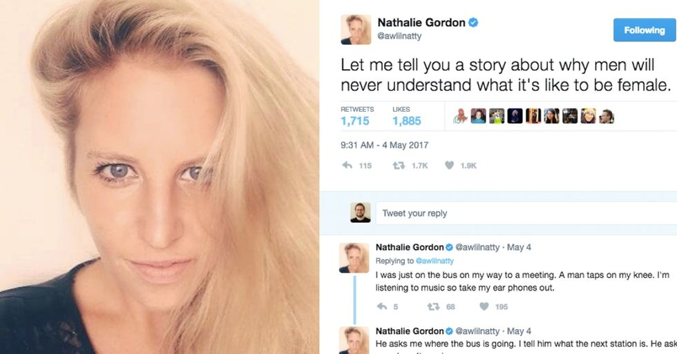 This woman's story of harassment was familiar to women but got a big reaction from men.