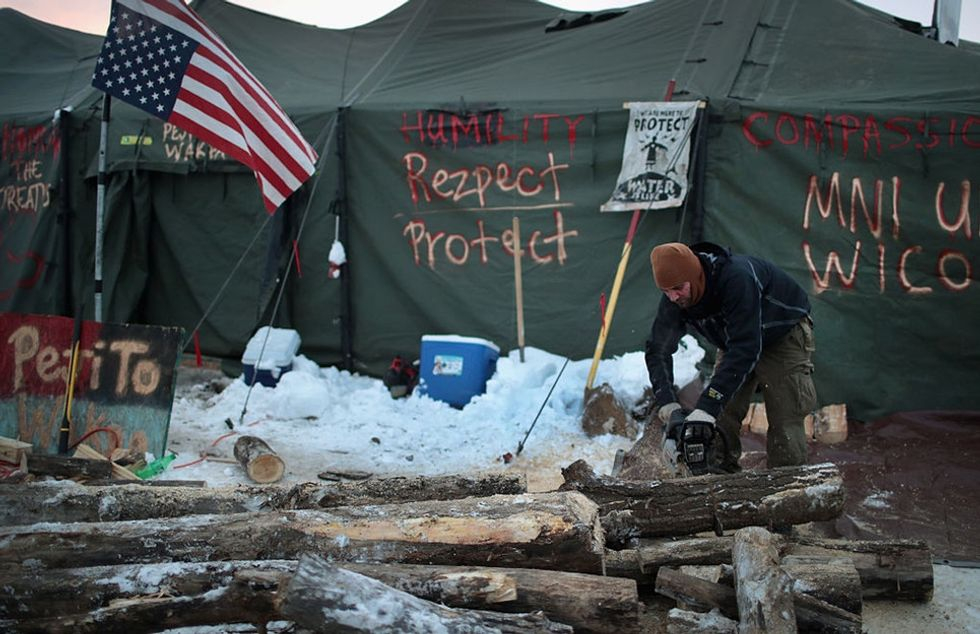 A first-person account of the cultural renaissance happening at Standing Rock.