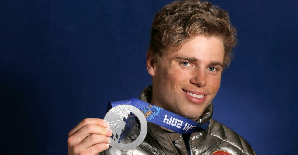 This gay skier's Olympic journey is a lesson for anyone struggling with their identity.