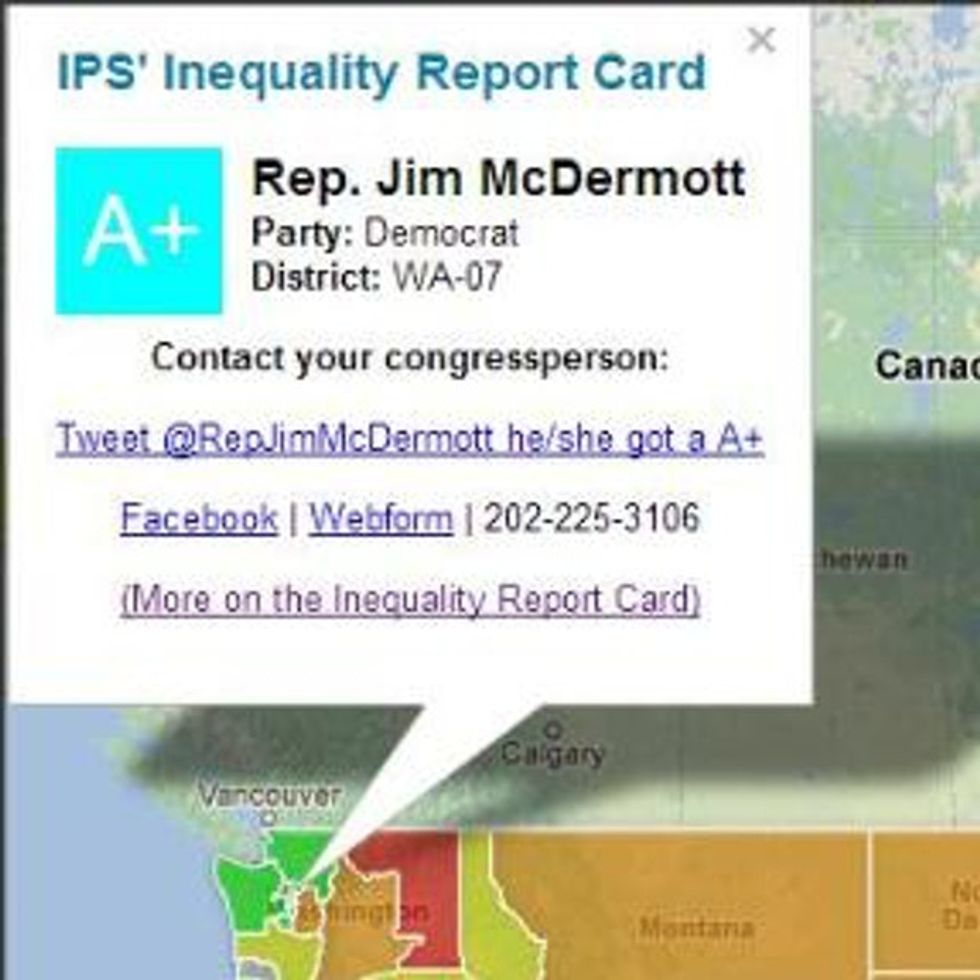 How To Know If Your Congressional Representative's Selling You Out