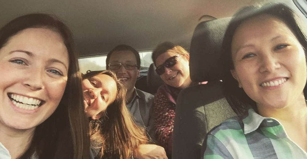 After the Brussels attack, many opened their homes to stuck travelers. She got in her car.