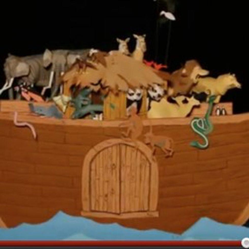 Noah's Ark Was Basically The Worst Season Of 'The Bachelor' Ever [VIDEO]