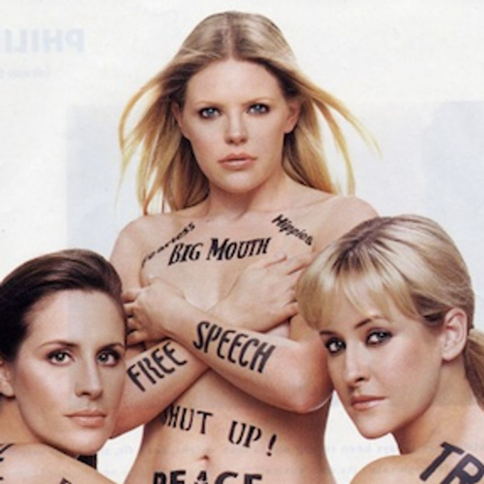 You Don't Need An Evil Mustache Or A Volcano Lair To Piss Off The Dixie Chicks