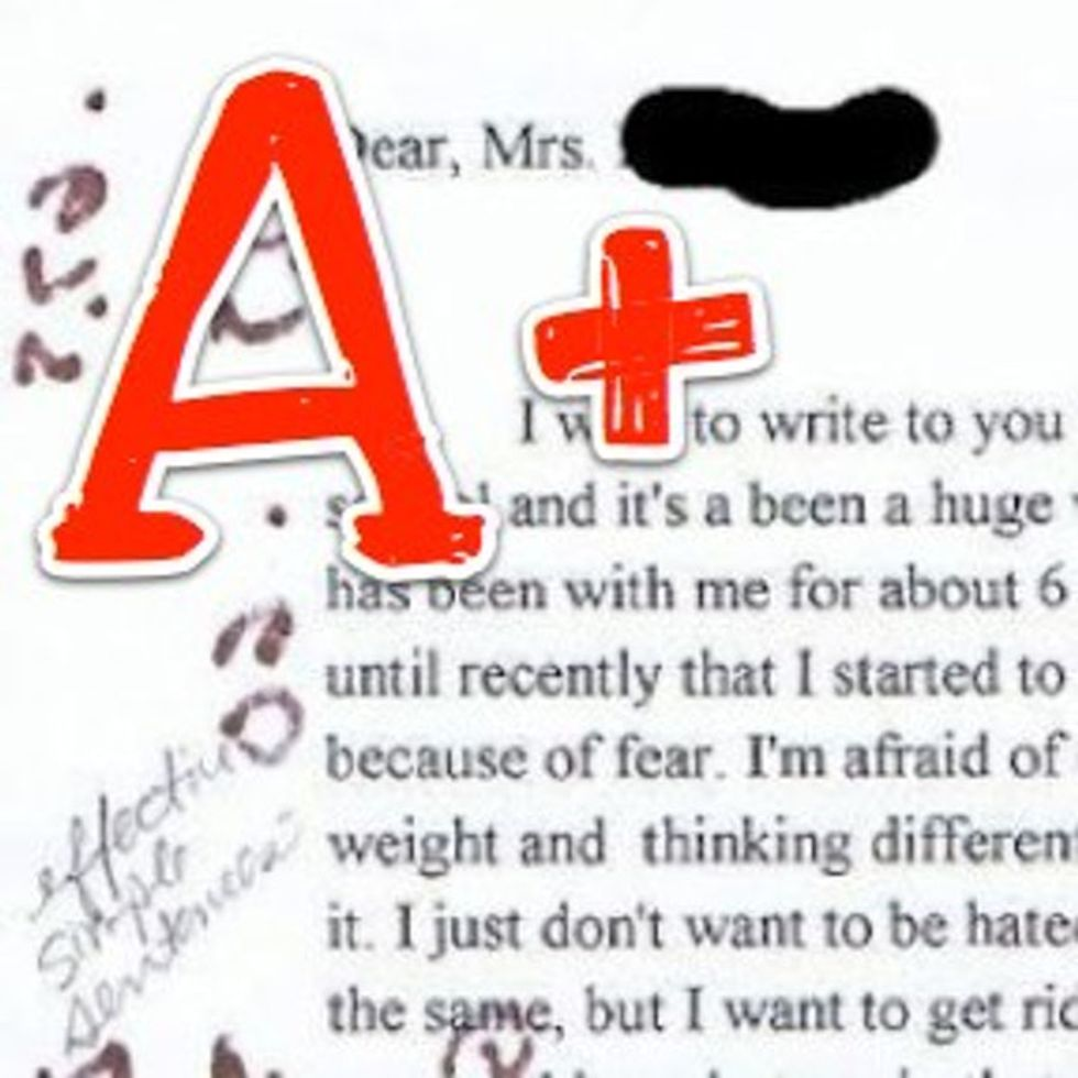 Student Comes Out To Teacher In Writing Assignment. Her Response Will Make You Cry.