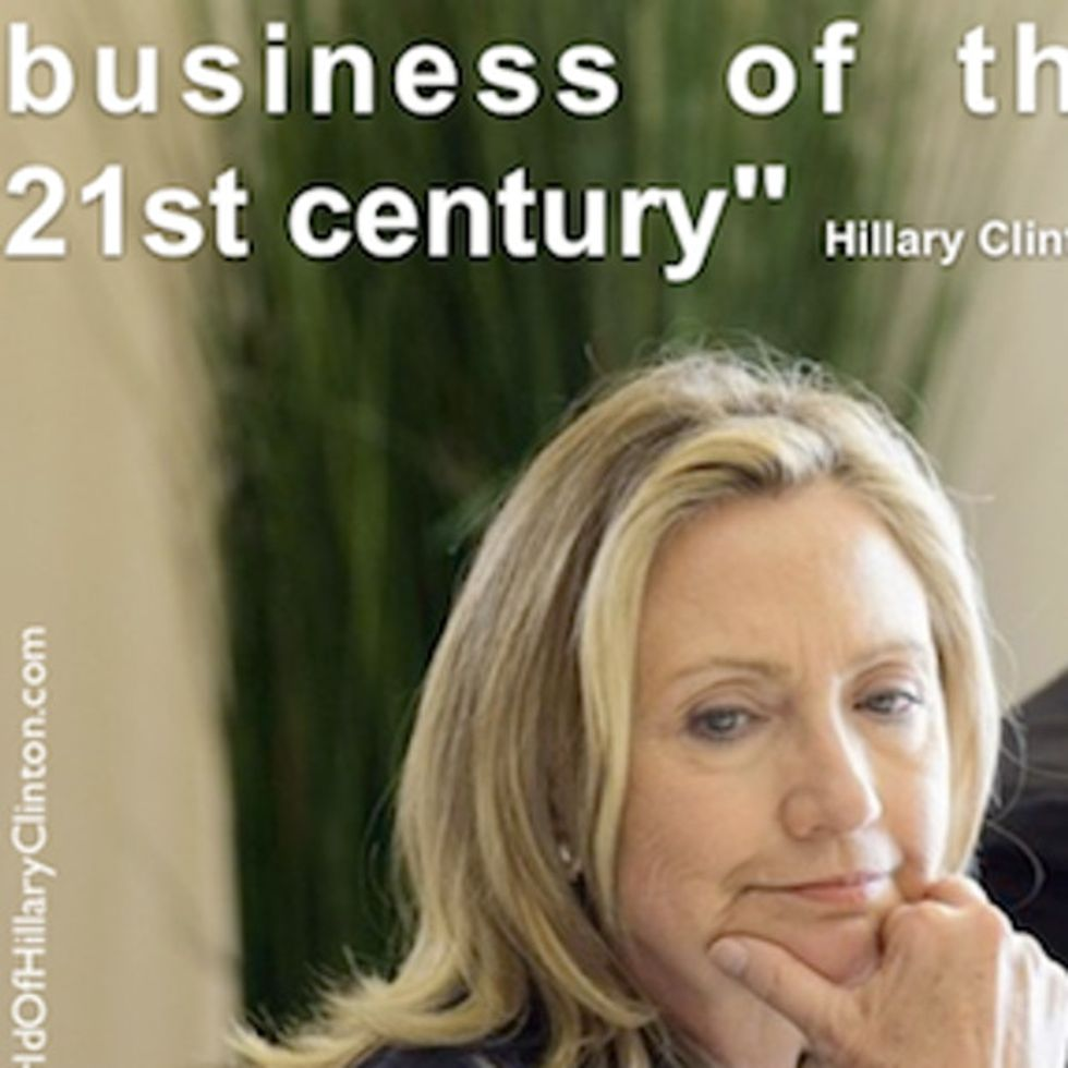 Hillary Clinton Nails It In One Sentence