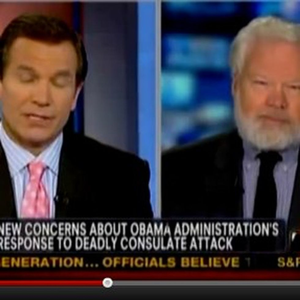The one where a national security expert says what we all know to Fox News' face.