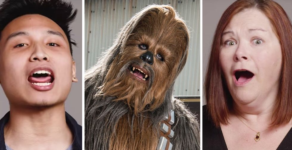31 Days of Happiness Countdown: 100 hilariously bad Chewbacca impressions. (Day 24)