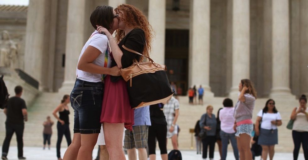 11 simple and powerful photos that capture the freedom of coming out.