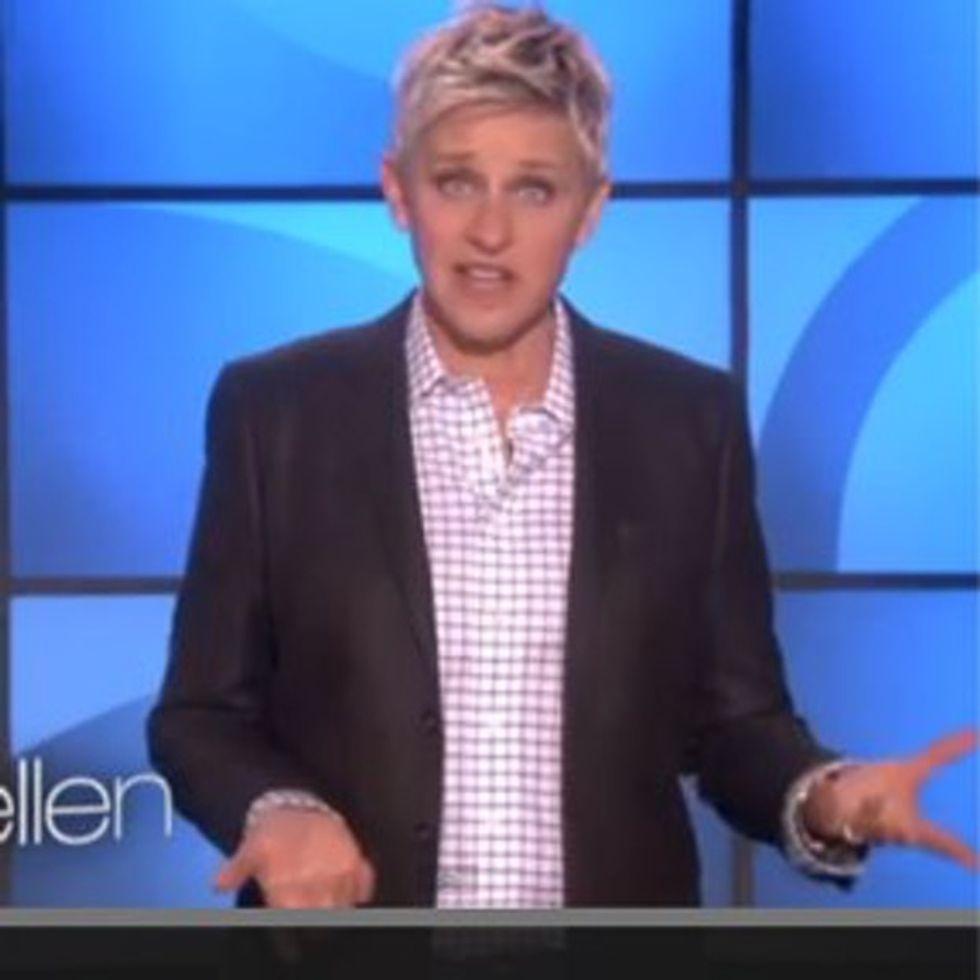 Ellen Scolds The Boy Scouts For Not Behaving Like Boy Scouts